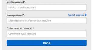 Come cambiare la password su Istanze on Line