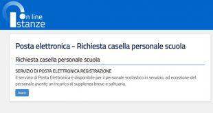 Posta Istanze on Line: gestione e cambio password