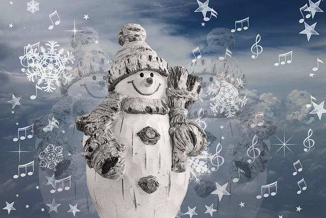 Auguri personalizzati con pupazzo di neve