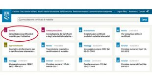 Certificato medico: come scaricarlo dal sito INPS