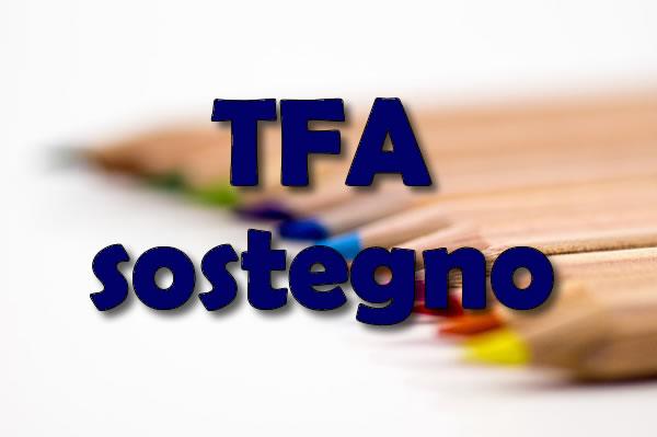 Nuovi TFA sostegno 2020