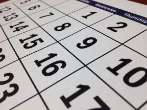 Calendario scolastico 2020