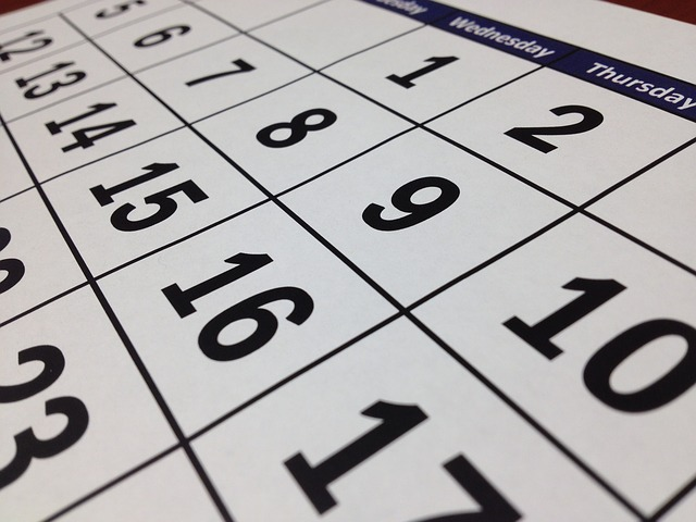 Calendario scolastico 2019/20