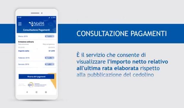 NoiPa consultazione pagamenti
