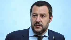 Salvini incontra la professoressa Dell'Aria
