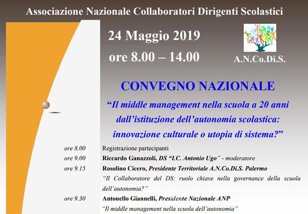 Convegno nazionale sul middle management
