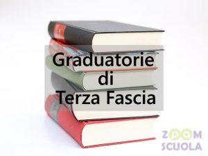Aggiornamento graduatorie di terza fascia