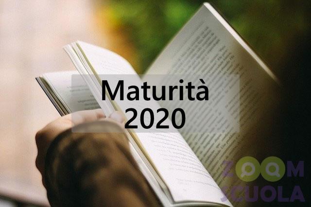 Maturità 2020