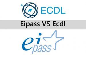 Differenze tra ECDL ed Eipass