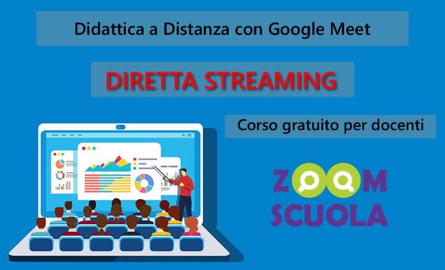Corso gratuito: Didattica a Distanza con Google Meet