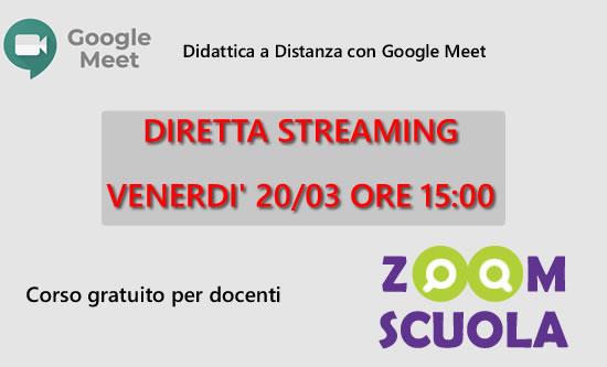Diretta corso Google Meet
