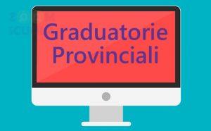 Richiesta di proroga per le graduatorie provinciali
