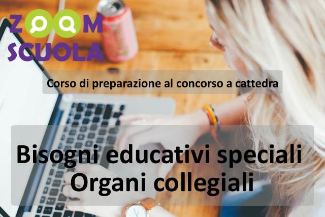 Corso preparazione concorso a cattedra: Bisogni Educativi Speciali