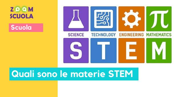 Quali sono le materie STEM