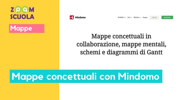Mappe concettuali con Mindomo